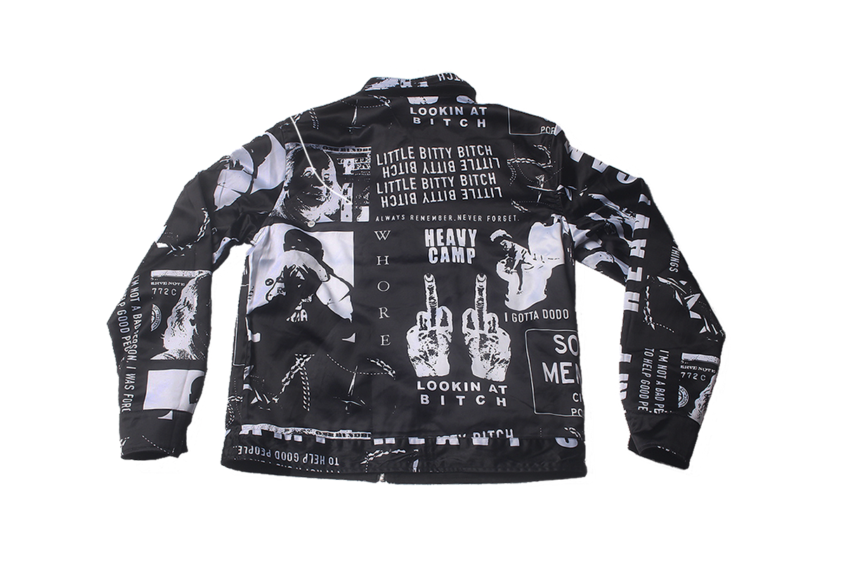 Blac Youngsta Stage Unisex Jackets Black