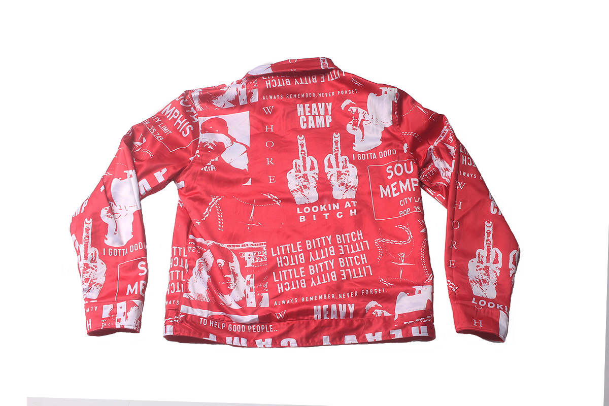 Blac Youngsta Stage Unisex Jackets Red