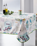 Tablecloth Poppy