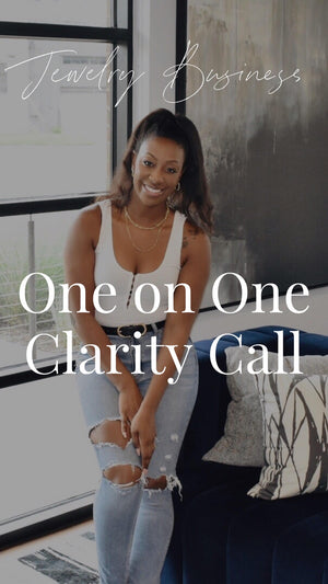 1:1 Clarity Call and Vision Planning