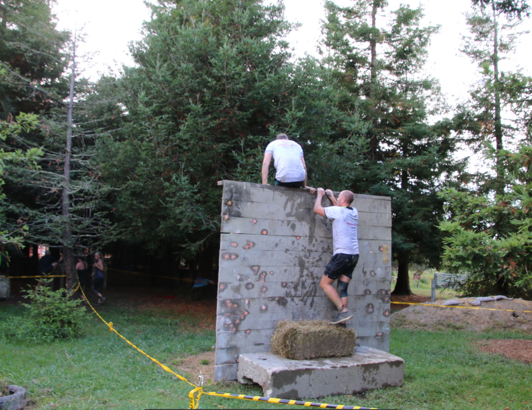 Team Obstacle Course Example