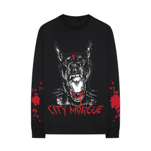 VLONE X CITY MORGUE BARK LONGSLEEVE I + DIGITAL ALBUM