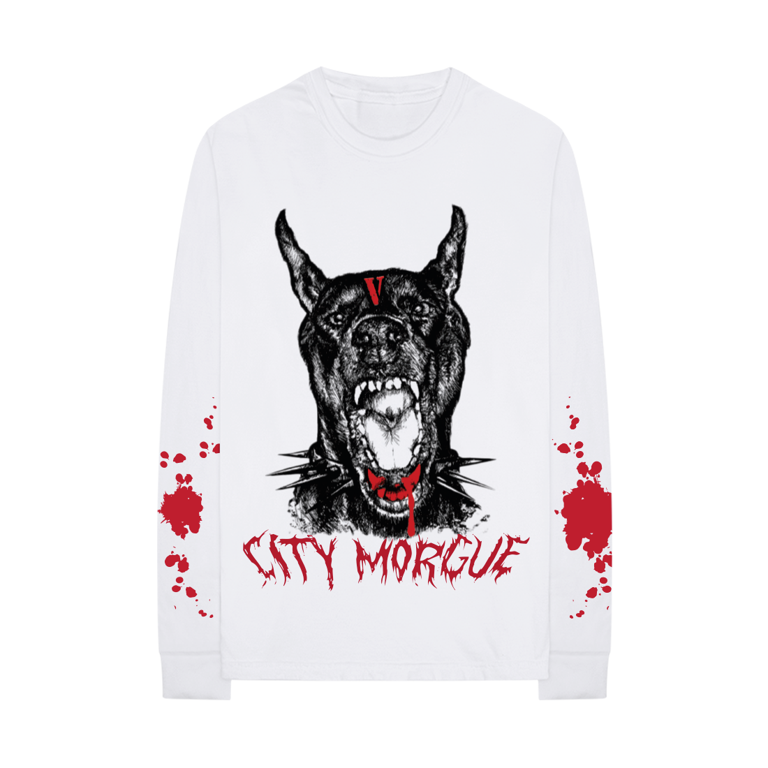 VLONE X CITY MORGUE BARK LONGSLEEVE II + DIGITAL ALBUM
