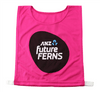 17-153 Gilbert Future Ferns Plain Bib Pink