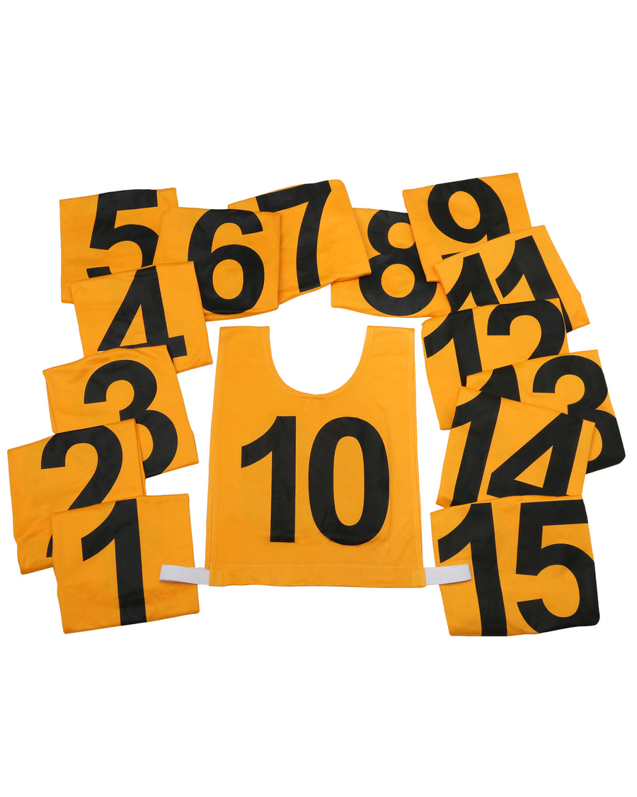 SGS Numbered Bib Set - 1-15