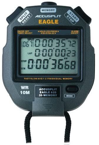 Accusplit Eagle Stopwatch With 35 Memory