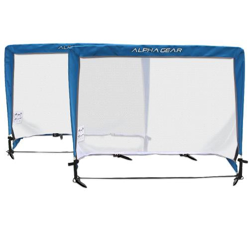 Alpha Pop Up Goals (Pair) - Square (2m x 1m)