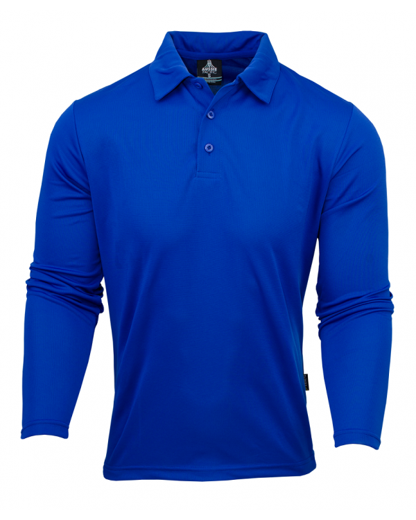 AP Botany Men's Polo Shirt - Long Sleeve