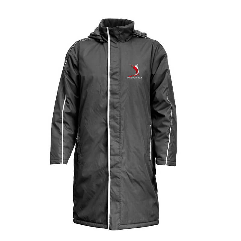 Coast Swim Club Sideline Jacket