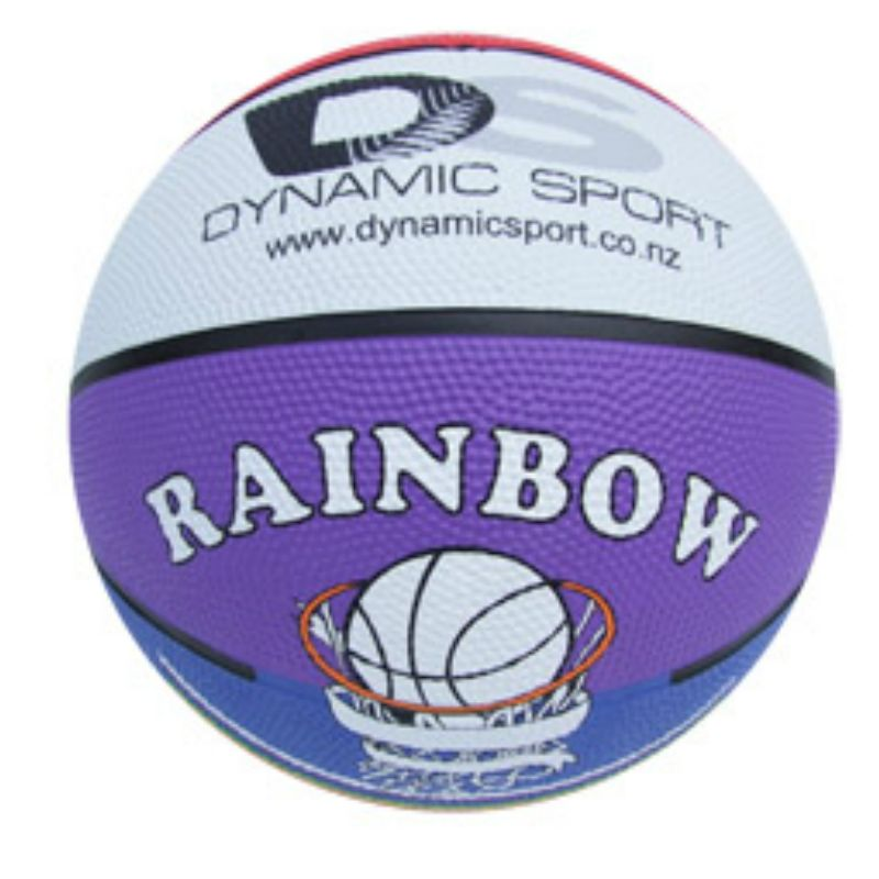 *CLEARANCE* Dynamic Sport Rainbow Basketball - Size 3