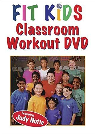 Fit Kids Clasroom Workout DVD