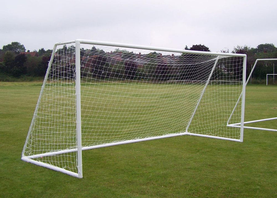 Football Goal Net - Full Size (White)
