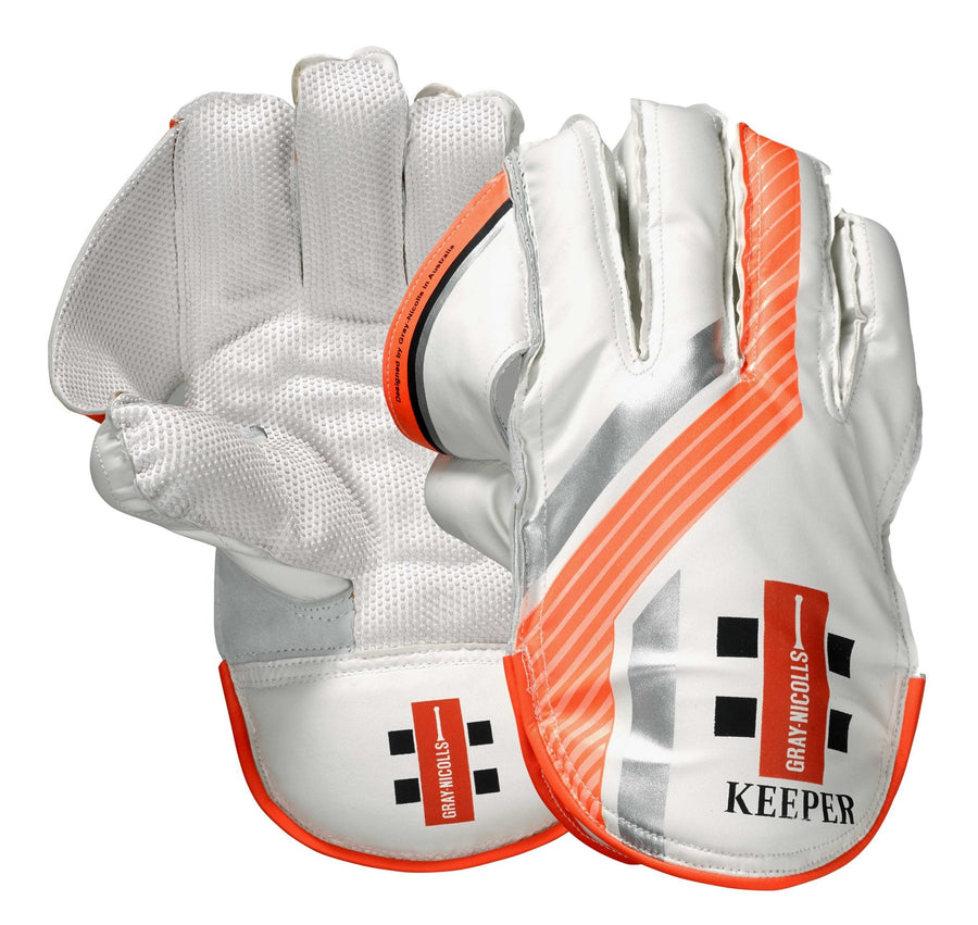 *CLEARANCE* Gray Nicholls 'Keeper' Wicket Keeping Gloves - YOUTH