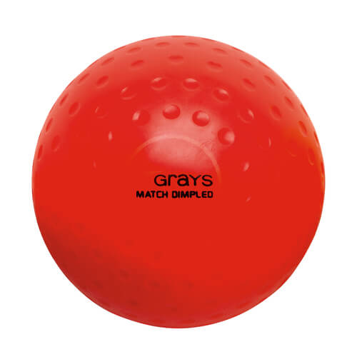Grays Match Crater Hockey Ball Yellow