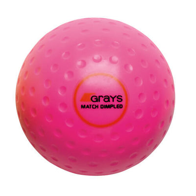 Grays Match Crater Hockey Ball Pink