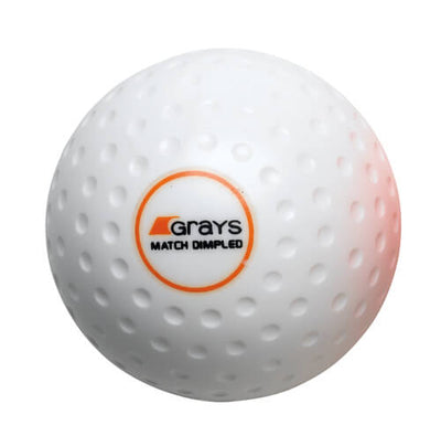 Grays Match Crater Hockey Ball White