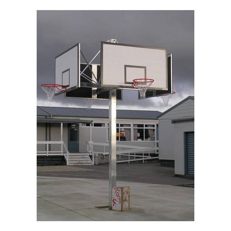 Gymleader Outdoor Heavy Duty Basketball Tower 4 Way