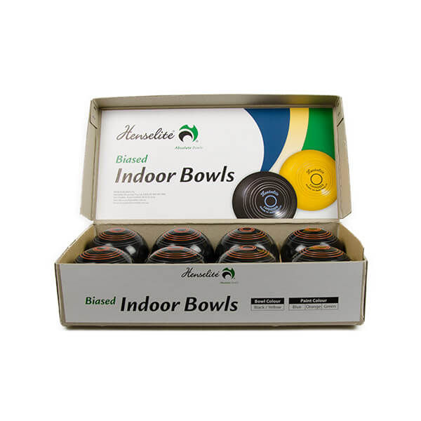 Indoor Bowls Black
