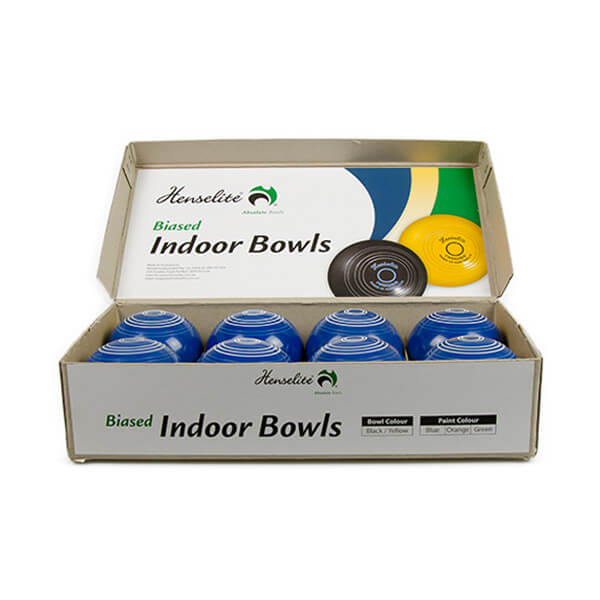 Indoor Bowls Blue