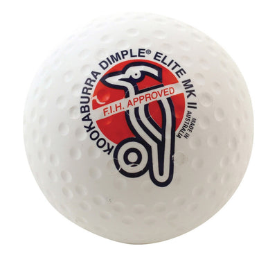 Kookaburra Dimple Elite MkII Hockey Ball White