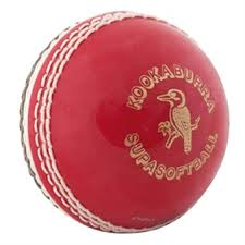 Kookaburra Supasoft Red White Cricket Ball