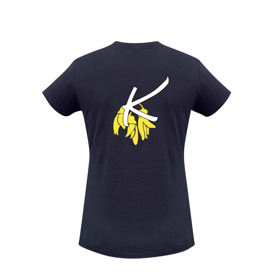 Kowhai Club T Shirt Ladies Front Web