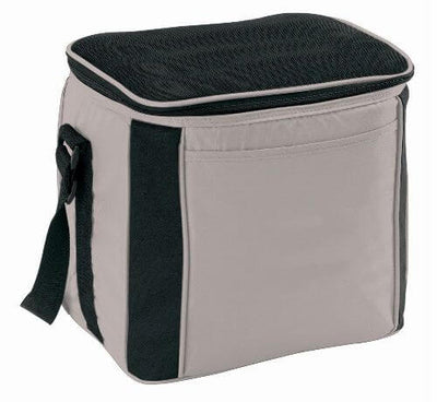 Large Cooler Bag Silver Black