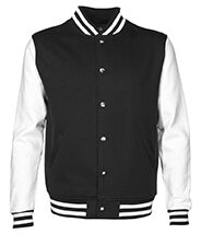 Letterman Jacket Black Web