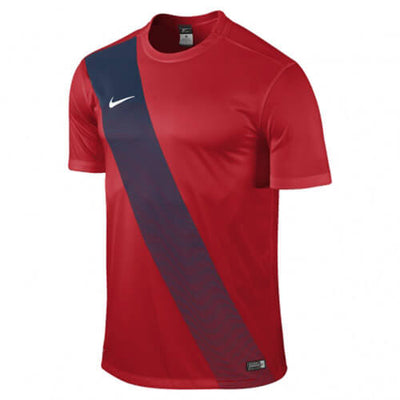 Nike Sash Jersey Uni Red Black Web