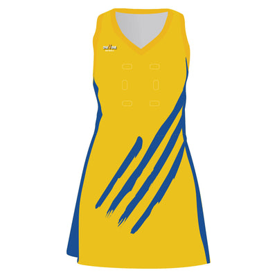 OneVOne Netball Dress - Contact