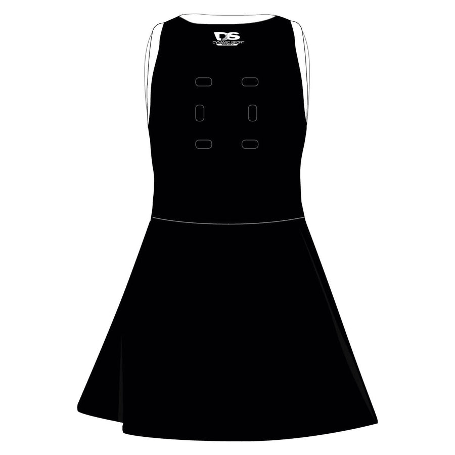 OneVOne Netball Bodysuit Dress - Drill