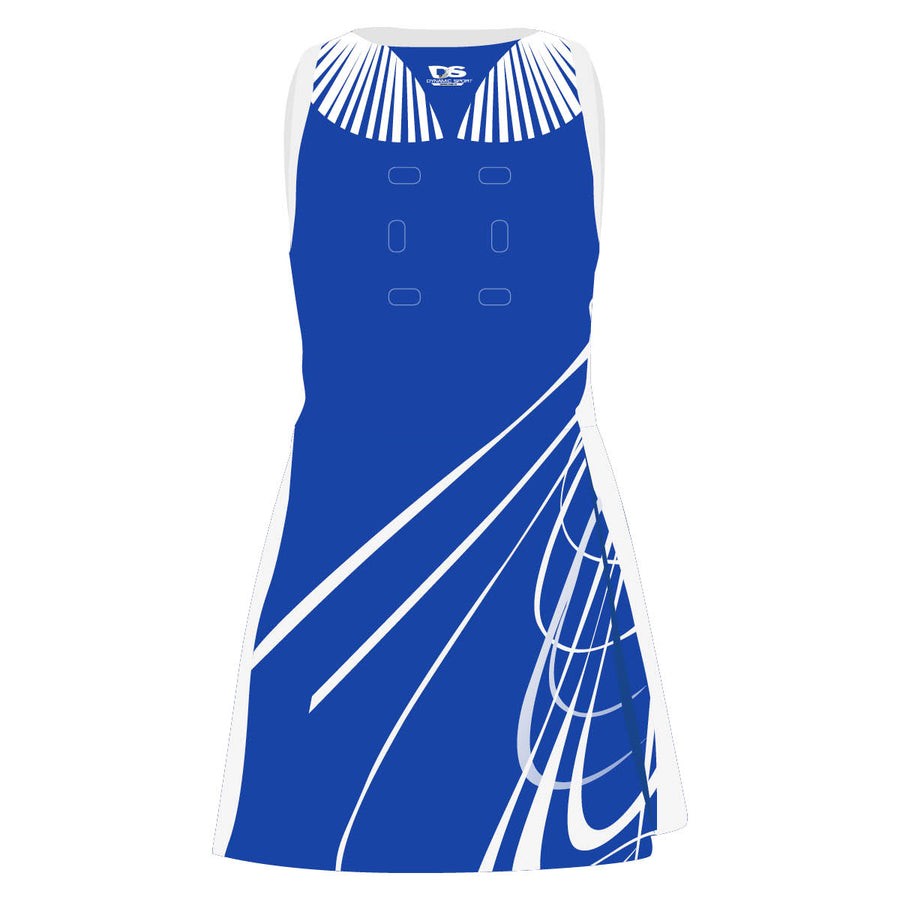 OneVOne Netball Dress - Firebird