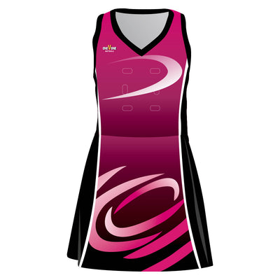OneVOne Netball Dress - Galaxy
