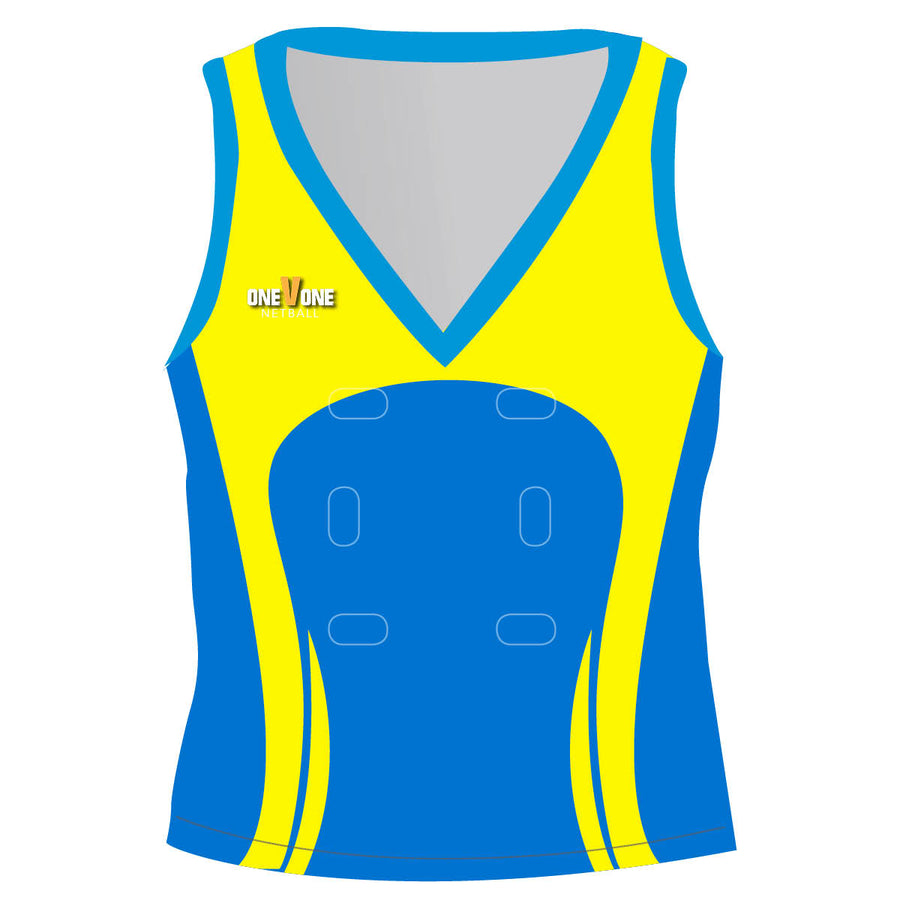OneVOne Netball Top/Singlet - Pocket