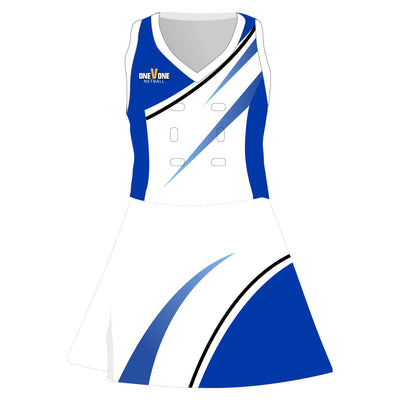 OneVOne Netball Bodysuit Dress - Switch