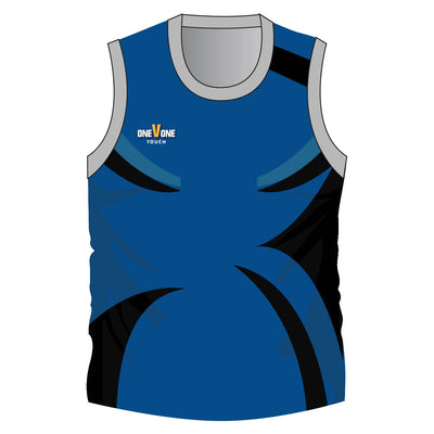 OneVOne Touch/Tag Singlet/Short Set - Intercept