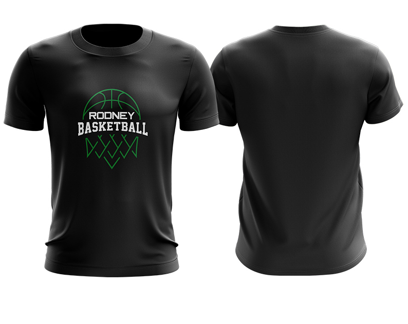 Rodney Basketball Association Warm Up Tee - Ladies