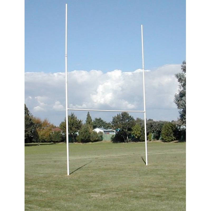 Rugby Posts Galvanised Intermediate Size