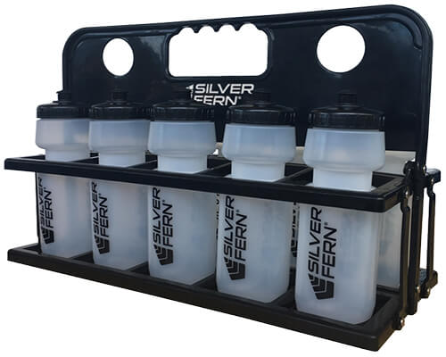 SF Plastic Drink Bottle Holder with Bottles WEB