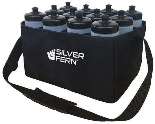 SF Soft Sided Drink Bottle Carrier W Bottles WEB