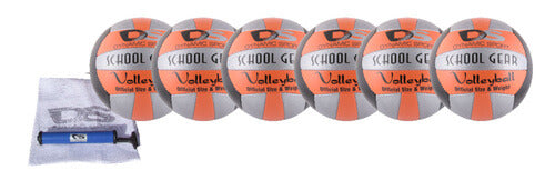 School Gear Volleyball Ball Kit