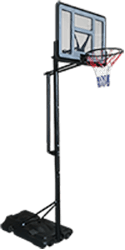 Silver Fern Basketball Hoop & Stand System