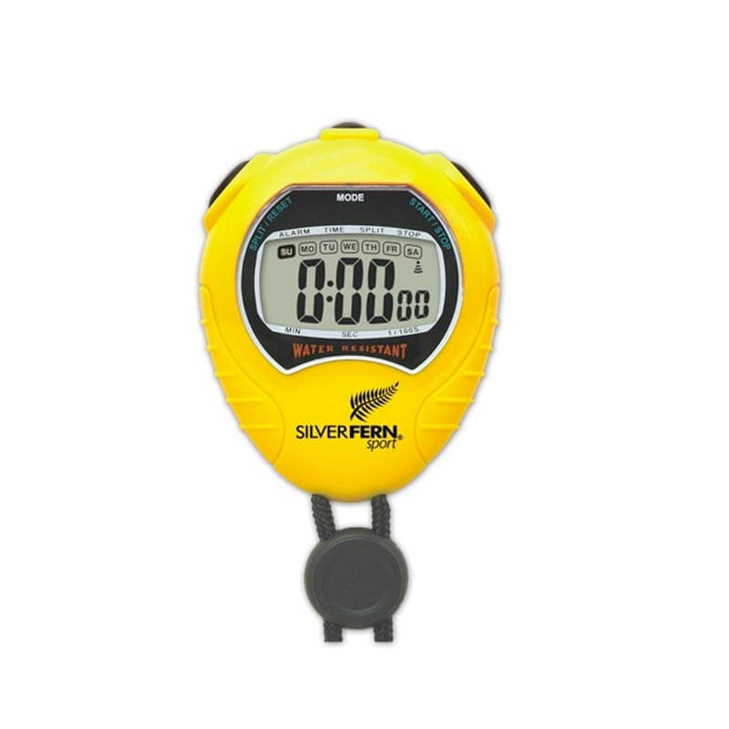 Silver Fern Large Display Stopwatch