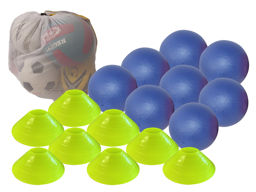 Silver Fern Deluxe Dodgeball Kit - 8 Ball