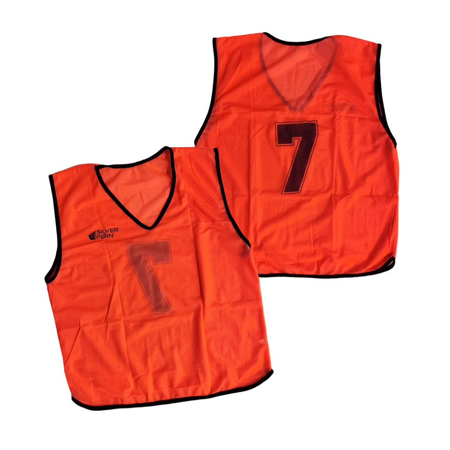 Silver Fern Numbered Singlets - 2-11