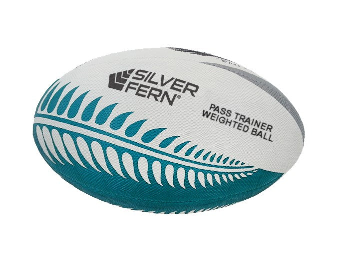 Silver Fern Rugby Training Pass Ball - Touch