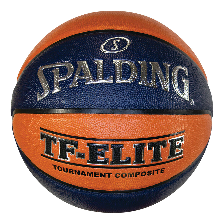 Spalding TF Elite Basketball - Orange/Navy