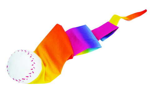*CLEARANCE* Rainbow Tail Ball
