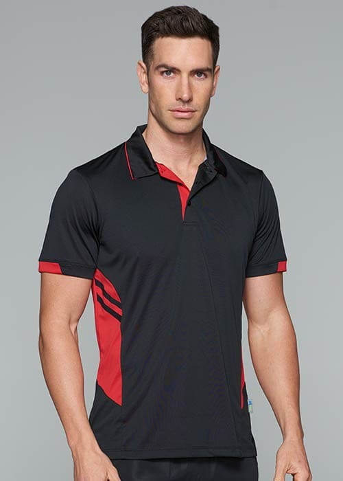 tasman-polo-mens-black-red