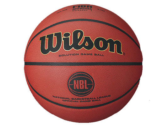 Wilson ANBL Solution Game Basketball